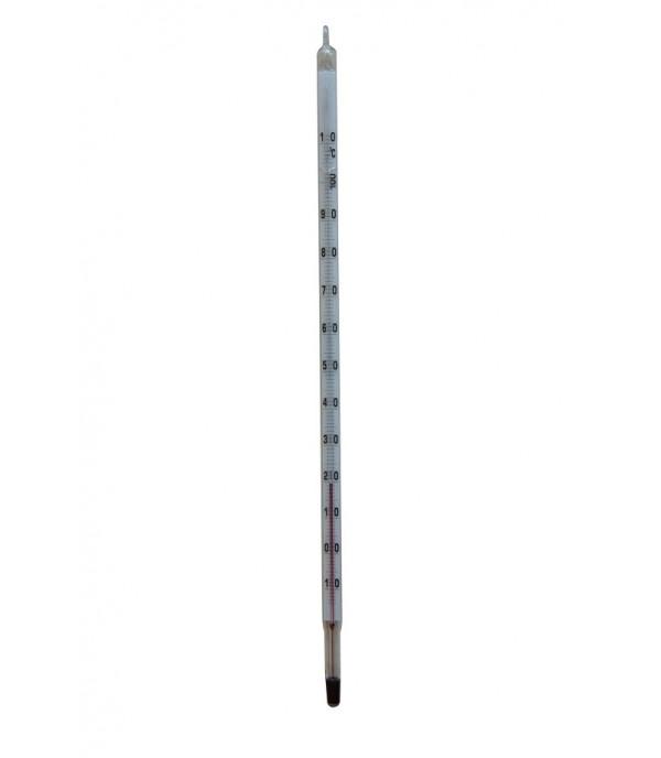 Belsőskálás üveg hőmérő -10...+110°C/1° Borsz. 1011423