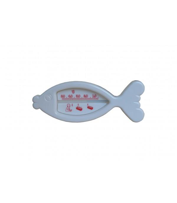 Fürdővíz hőmérő hal, fehér