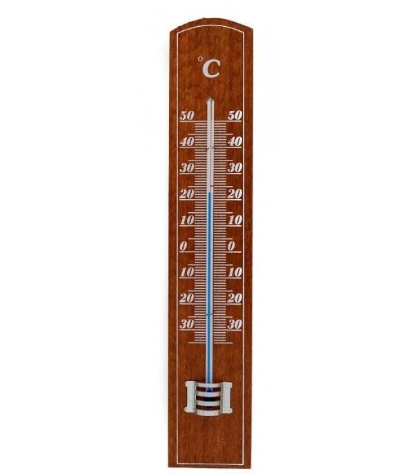 Szoba hőmérő 2058 típus, cseresznye