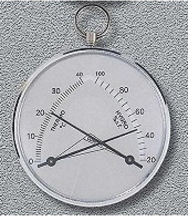 Páratartalom mérő és hőmérő 301713 85mm