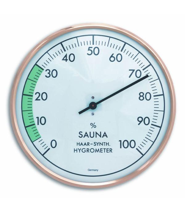 Szauna páratartalom mérő 40.1012 Ø160mm