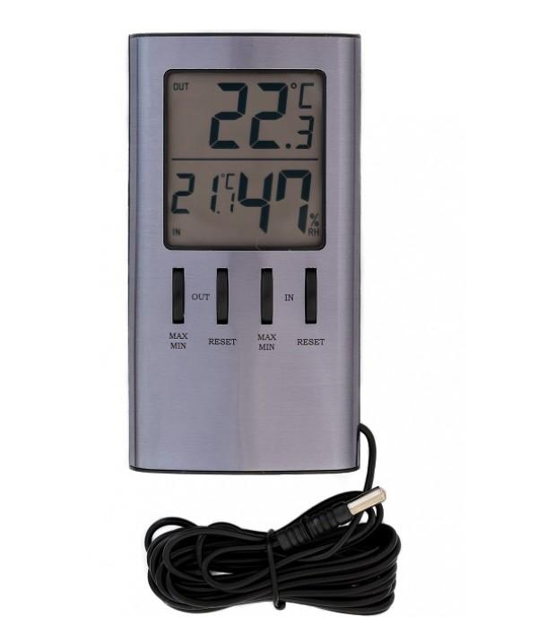 Digitális külső-belső hőmérő 915