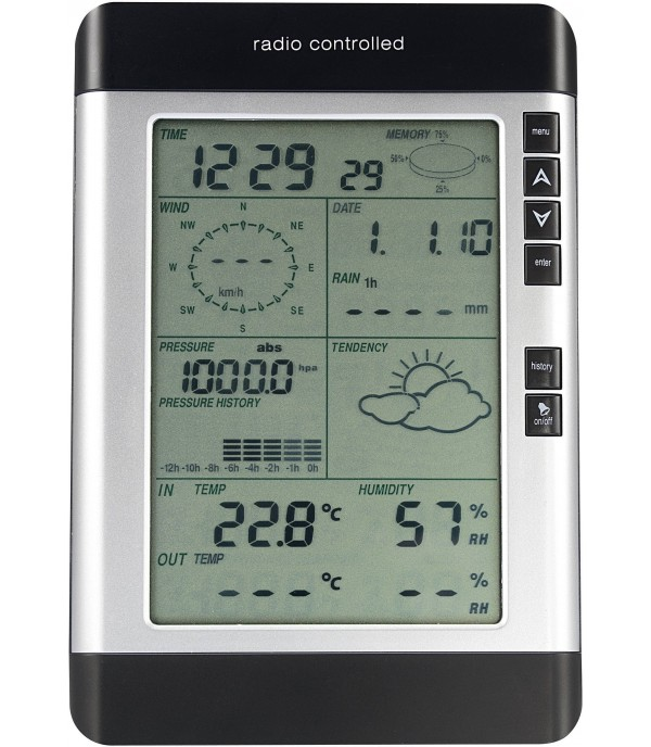 Digitális időjárás állomás WH-2080 (02049)