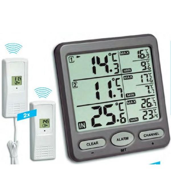 Digitális külső-belső hőmérő 30.3062.10 Trio