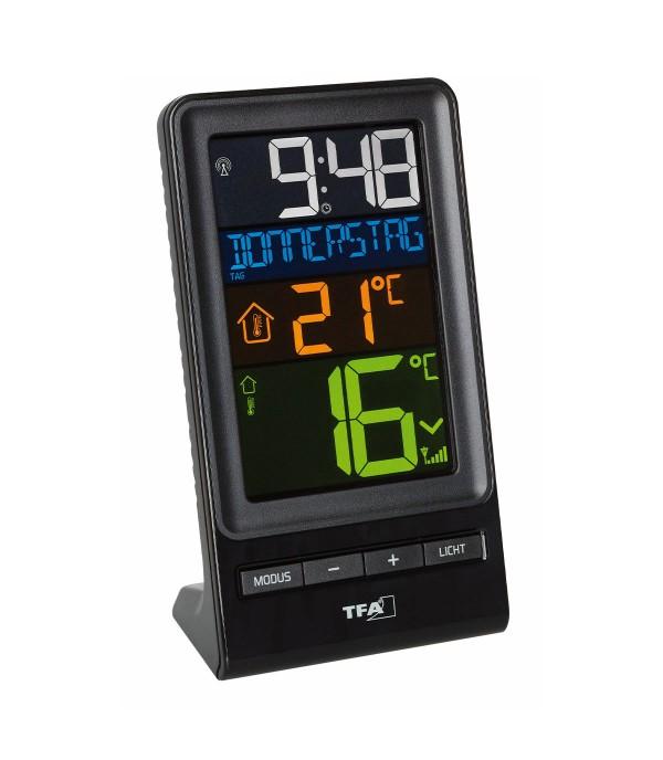 Digitális külső-belső hőmérő 30.3064.01 Spira