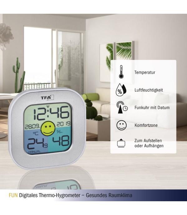 Digitális hőmérő páramérővel 30.5050.54
