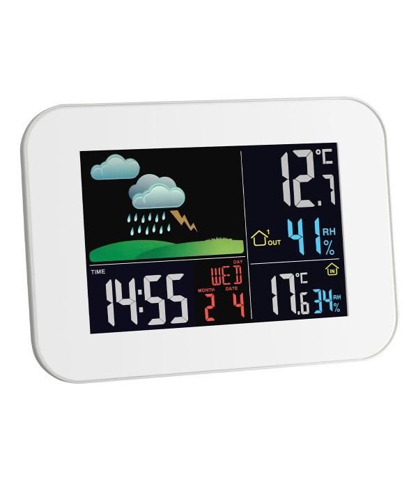 Digitális időjárás állomás 35.1136.02 Primavera
