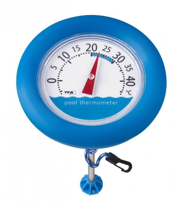 Medence hőmérő Ø 195mm 40.2007