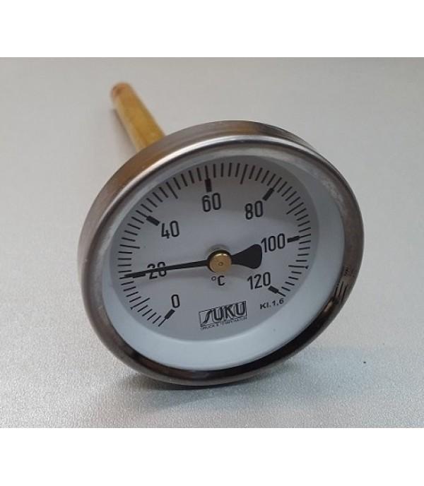 Bimetál hőmérő 100/0+120°C/300mm