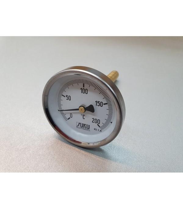 Bimetál hőmérő 100/0+200°C/250mm