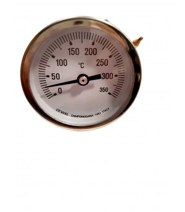 Kapillárcsöves bimetál hőmérő 350°C
