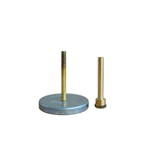 Bimetál hőmérő 100/0+160°C/160mm