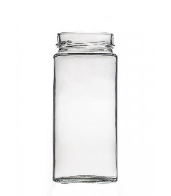 Befőttes üveg tetővel Prémium 400ml