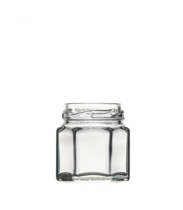 Befőttes üveg Hexagon 45ml