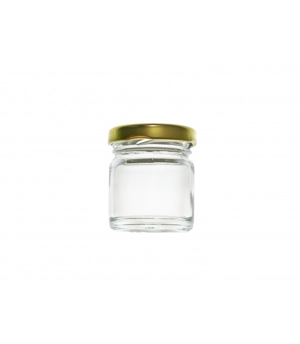 Befőttes üveg tetővel 30ml
