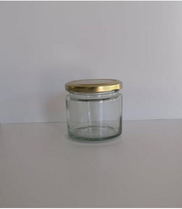 Befőttes üveg tetővel minimal 210ml
