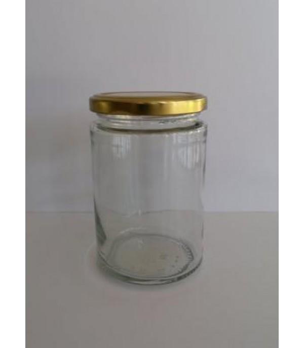 Befőttes üveg tetővel minimal 370ml
