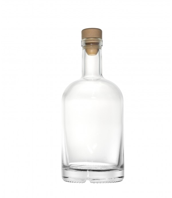 Pálinkás üveg Oslo 500ml dugóval