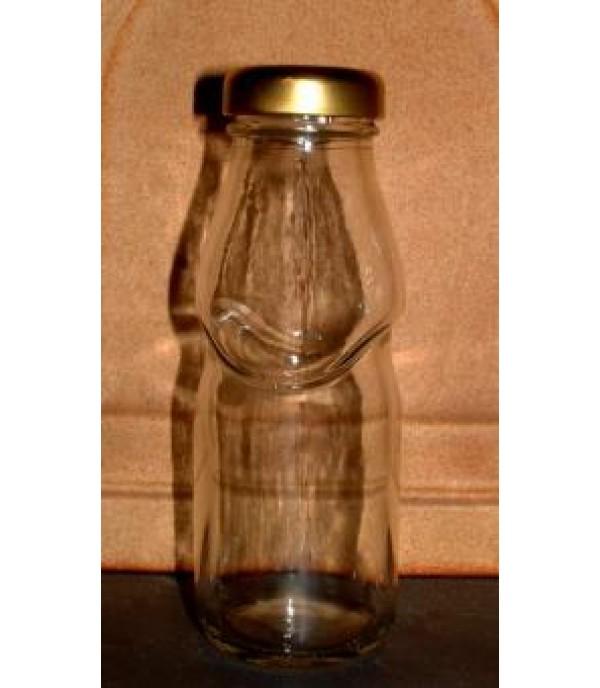 Szörpös üveg tetővel 0,2L