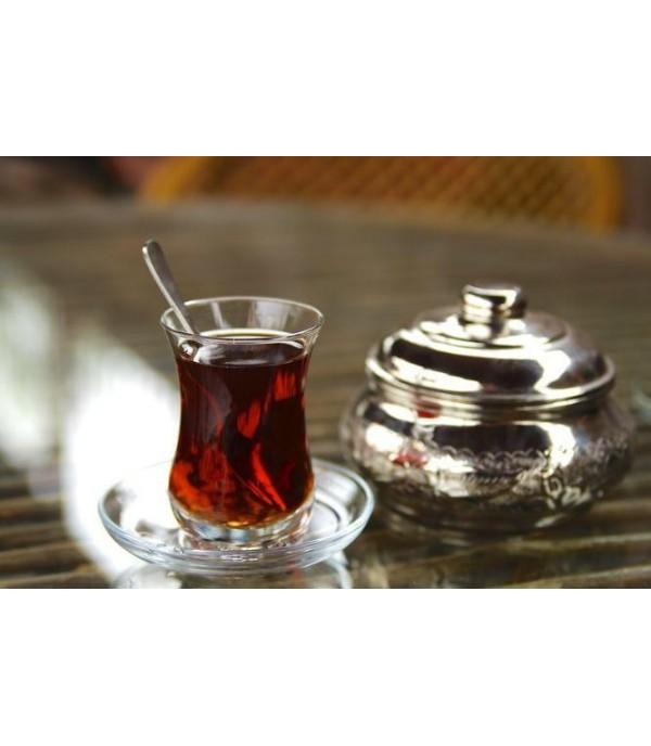 Török teás pohár füllel 140ml