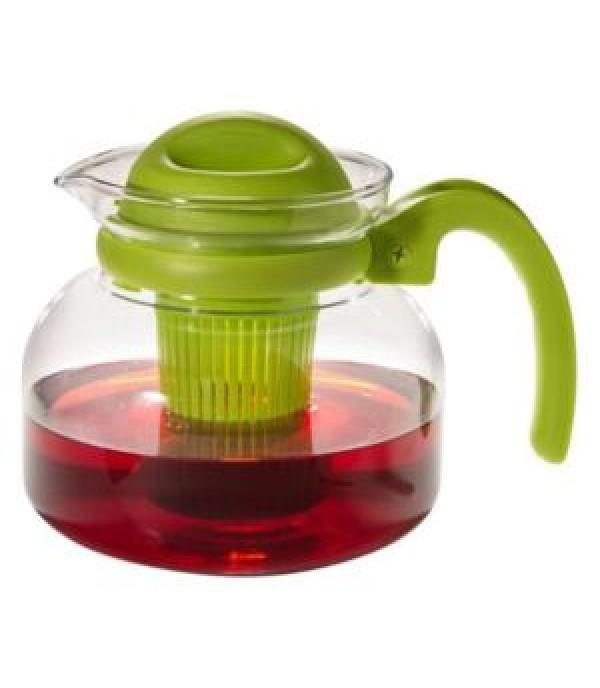 Hőálló teáskanna szűrővel 1,5L