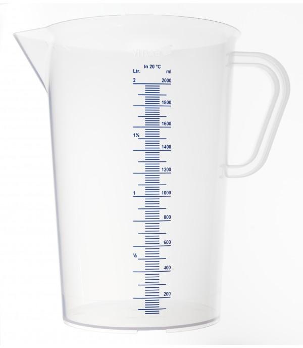 Mérőpohár PP műanyag 2000ml