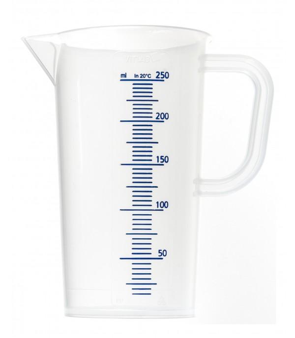 Mérőpohár PP műanyag 250ml