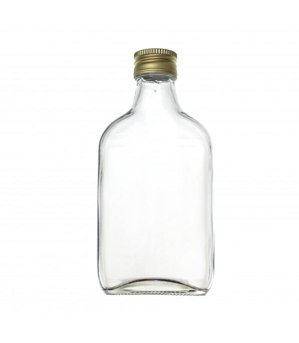 Laposüveg 0,2L csavaros kupakkal