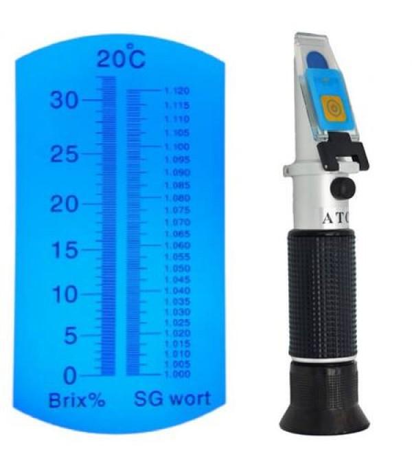 Refraktométer sörhöz RHB-32SG ATC 0-30 Brix 1000-1120