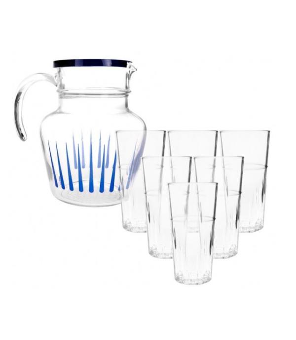 Üdítős pohár készlet 7db-os