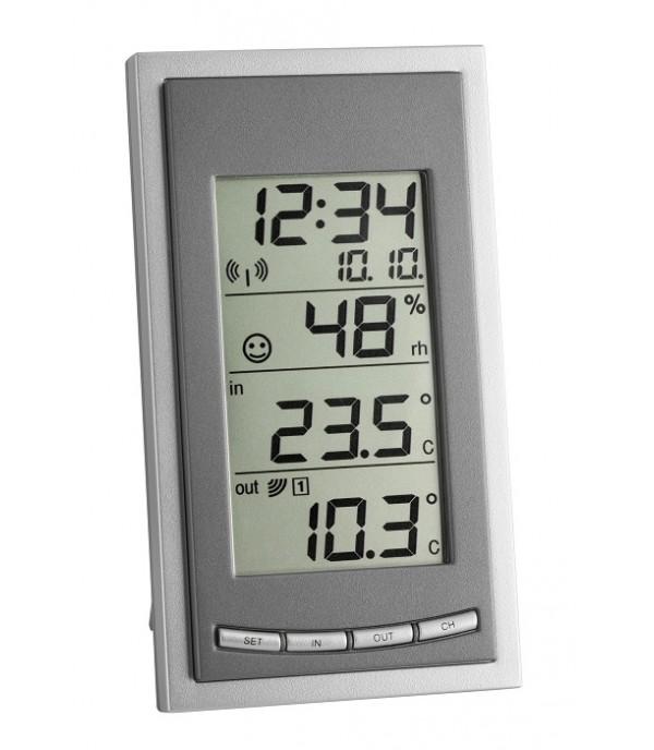 Digitális külső-belső hőmérő 30.3018 Diva Go