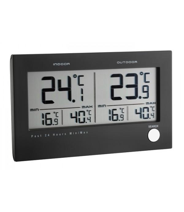 Digitális külső-belső hőmérő 30.3048 Twin