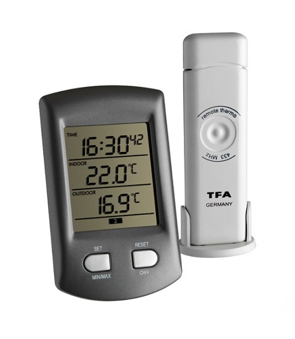 Digitális külső-belső hőmérő 30.3034.10 Ratio