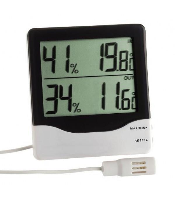 Digitális külső-belső hő- és páramérő 30.5013
