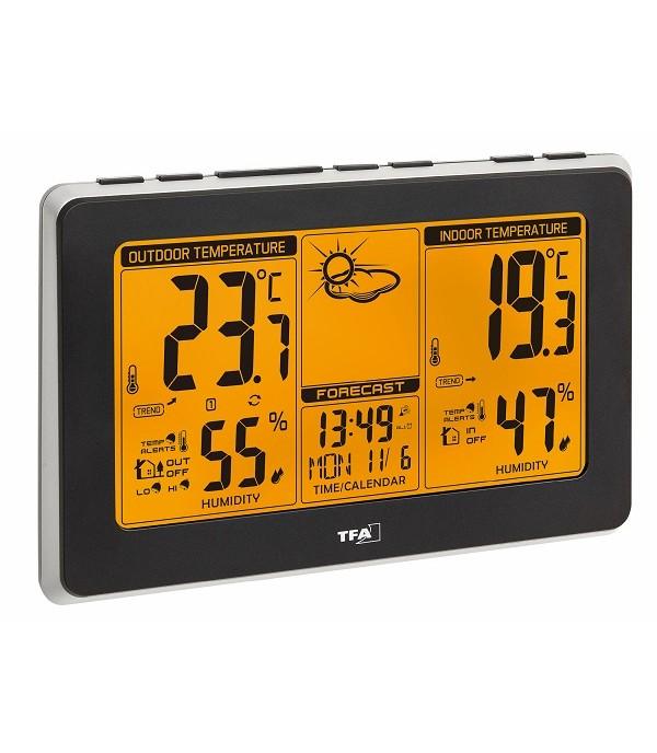 Digitális időjárás állomás 35.1151.01 Mondo