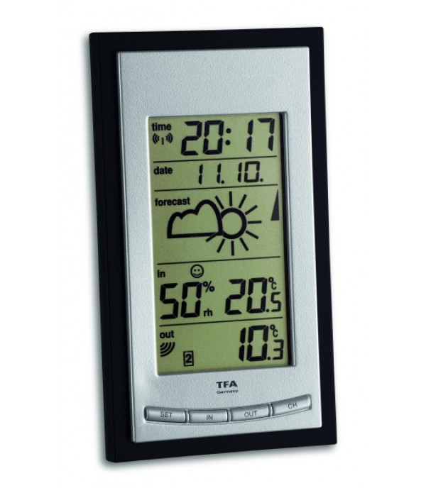 Digitális időjárás állomás Diva Base 35.1068