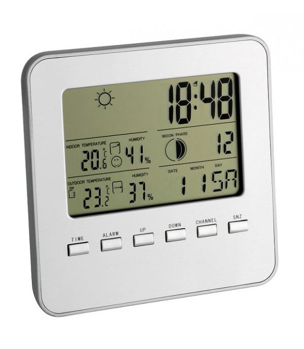 Digitális időjárás állomás Quadro  35.1098.54