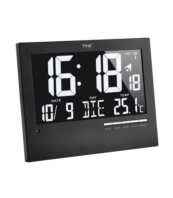 Digitális hőmérő+óra 60.4508
