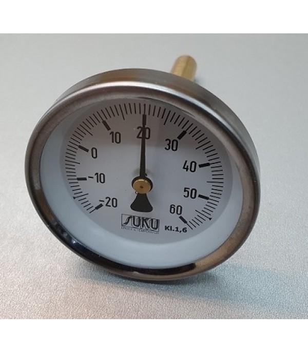 Bimetál hőmérő 100/-20+60°C/100mm
