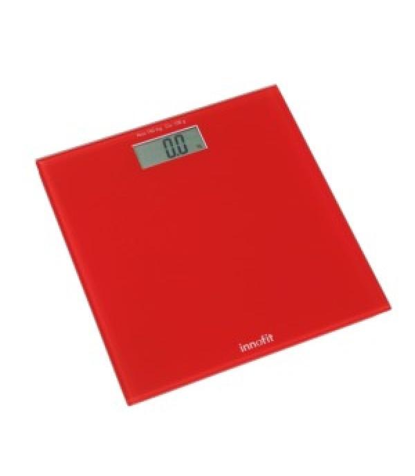 Digitális személymérleg INN-107 piros