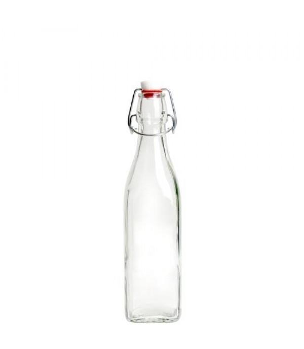 Csatos üveg Bamby 0,5L kerek