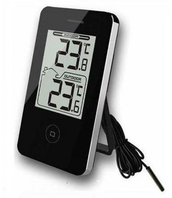Digitális külső-belső hőmérő 217 fekete