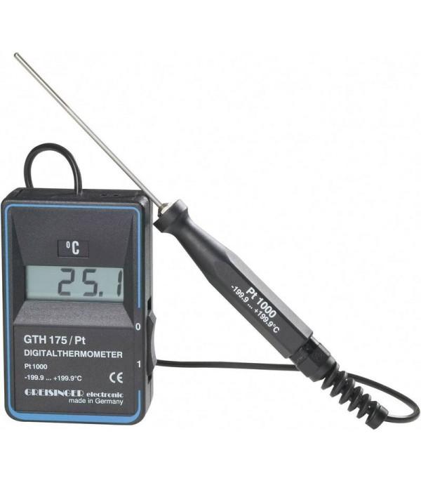 Digitális precíziós hőmérő GTH 175/Pt -199°...+199.9°C