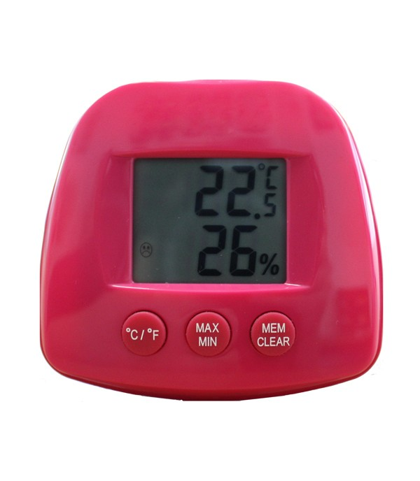 Digitális hő- és páramérő ST504-rózsaszín