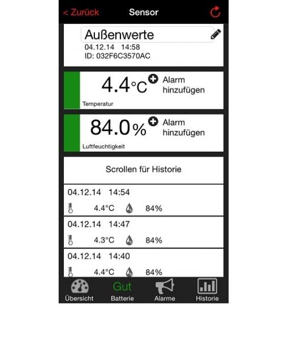 Digitális hőmérő 31.4001.02 Weather Hub