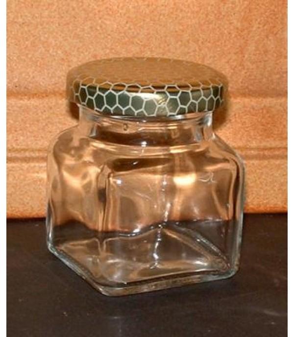 Befőttes üveg 50ml négyszögletes