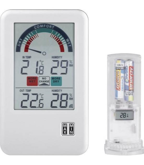 Digitális külső-belső hő- és páramérő Bel-Air 30.3045