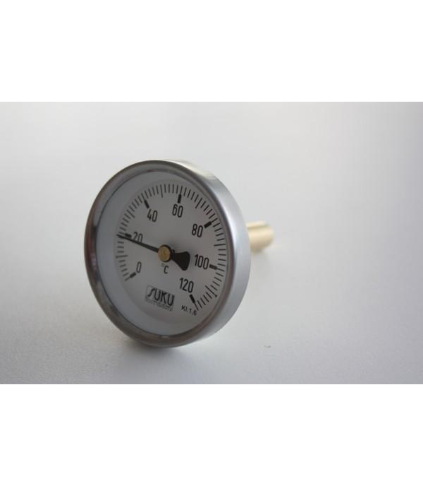 Bimetál hőmérő 100/0+120C/50mm