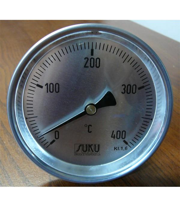 Bimetál hőmérő 100/0+400°C/200mm