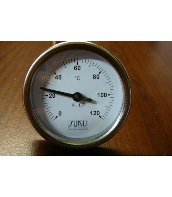 Bimetál hőmérő 50/0+120°C/45mm